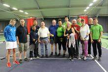 Apprentices at White Horse Tennis and Leisure Centre