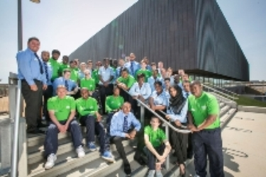 GLL creates jobs at the Copper Box Arena